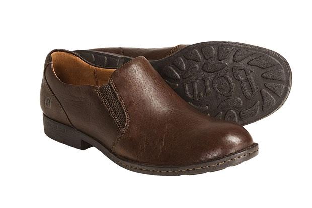 Comfortable born shoe