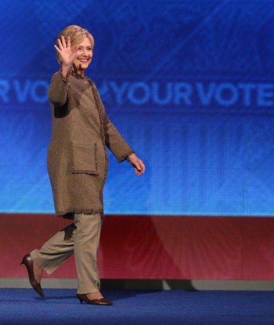 Best shoe for Clinton