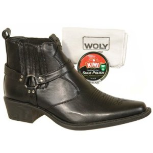 men shoes polish