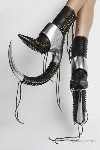 Creative shoe line
