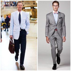 Cotton men suits