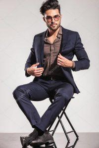 Cool men attire